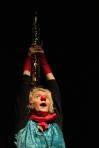 Clownin LOTTE fliegt zum Mond 2008