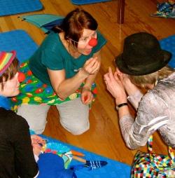 clown workshop im Dore Jacob Haus