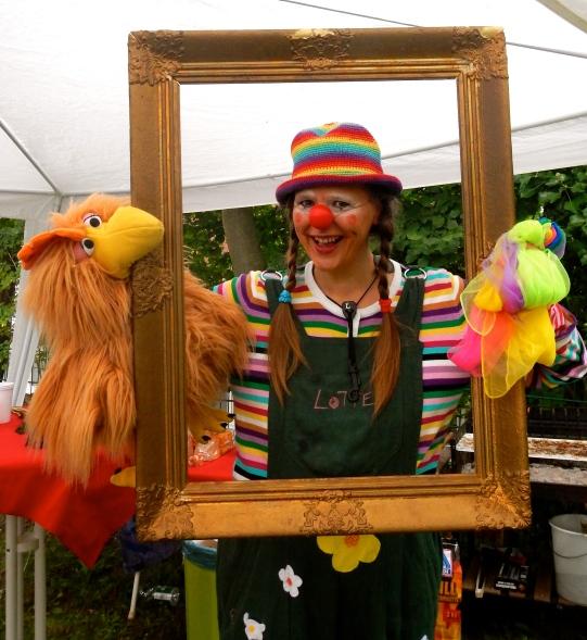 Clownin LOTTE bei Hepatha
