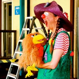 Clownin LOTTE und Hertha
