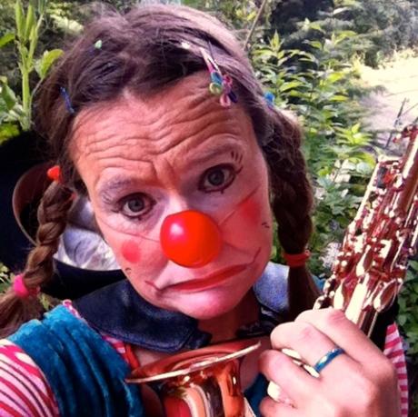 Clownin LOTTEs Mimik