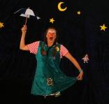 Clownin LOTTEs Seiltanz