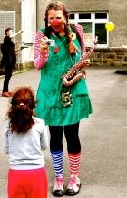 Clownin LOTTE Flüchtlingskind