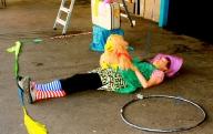clownin lotte - foto andreas ziller