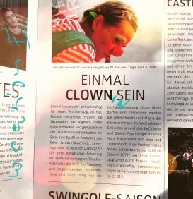 Clown Seminar Presse Essen