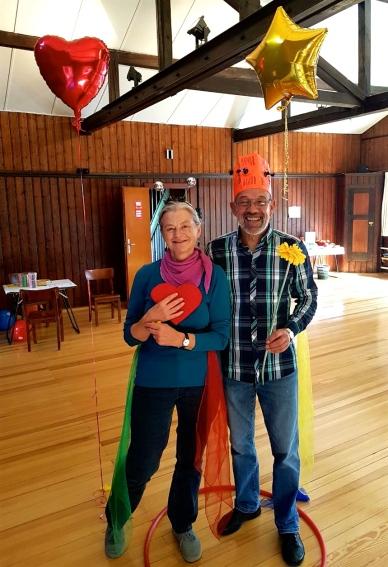 Clownin LOTTE TeilnehmerInnen