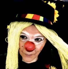 Clown Lotte - Haare