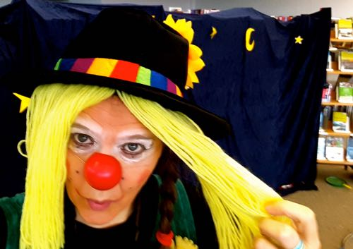 clownin Lotte Kindertheater